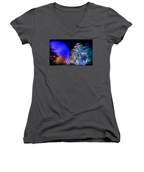 Illuminations Reflections Of Earth Women's V-Neck T-Shirt