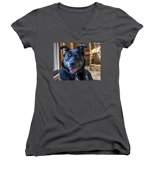 Ready When You Are Women's V-Neck T-Shirt