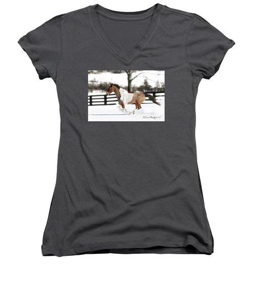 Image #3 Women's V-Neck T-Shirt