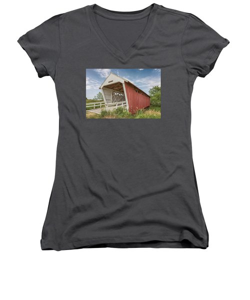 Imes Covered Bridge Women's V-Neck