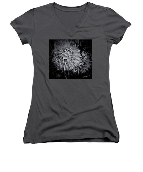 In Abstract Women's V-Neck