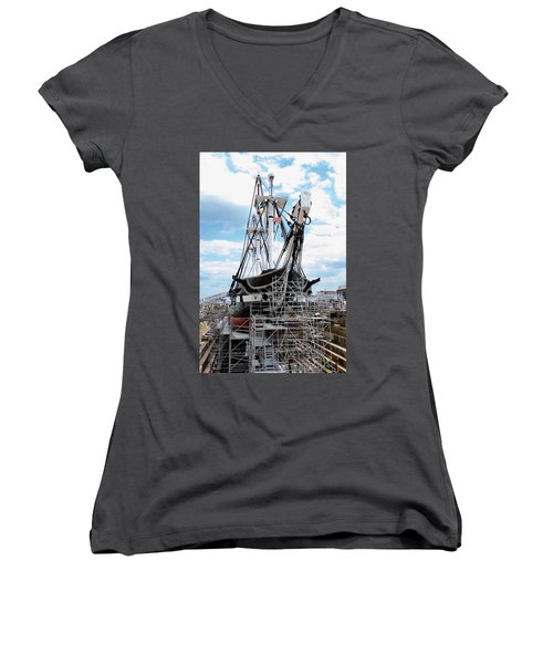 In Dry Dock Women's V-Neck (Athletic Fit)