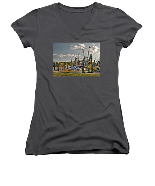 In For The Day Women's V-Neck T-Shirt