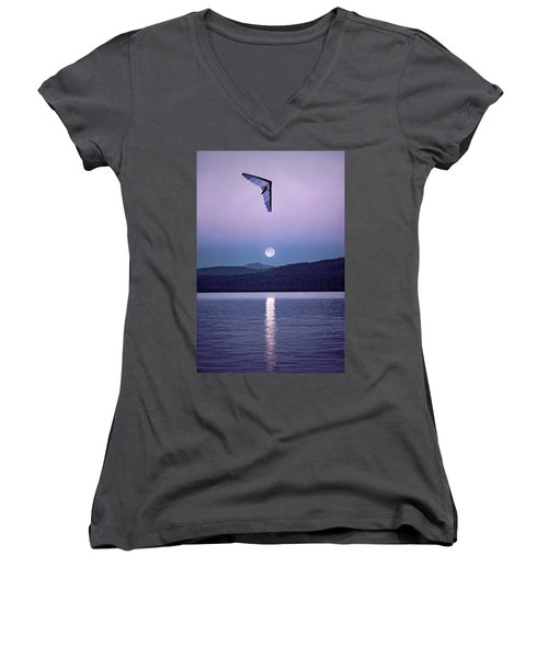 In The Air Tonight Women's V-Neck