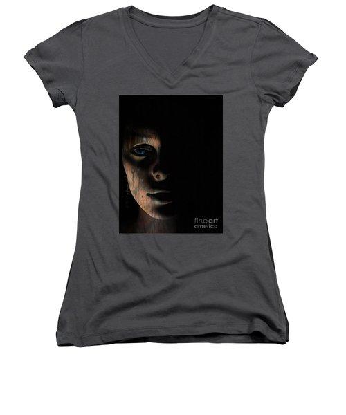 In The Dark Women's V-Neck T-Shirt