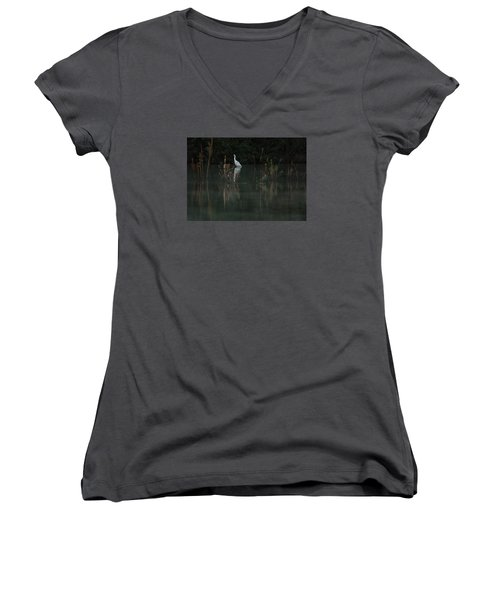 In The Distance Women's V-Neck (Athletic Fit)