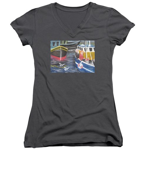 In The Harbour Women's V-Neck (Athletic Fit)