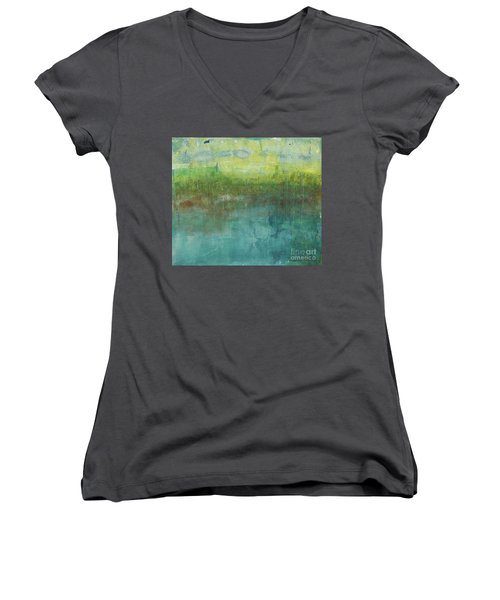 Through The Mist 2 Women's V-Neck (Athletic Fit)