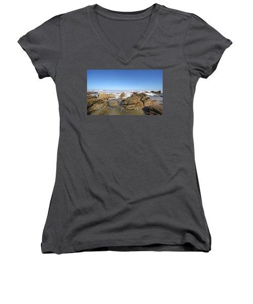 In The Rocks Women's V-Neck