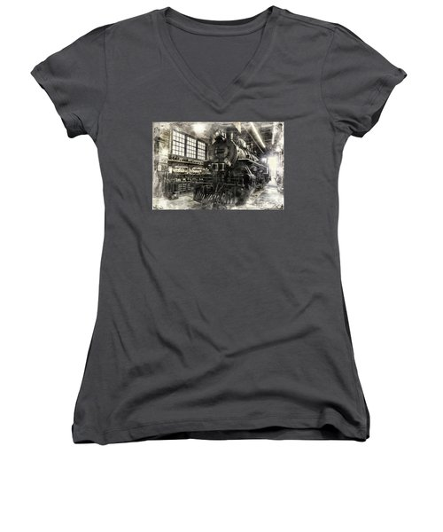 In The Roundhouse Women's V-Neck (Athletic Fit)