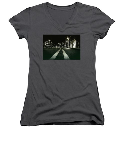 In The Streets Women's V-Neck (Athletic Fit)