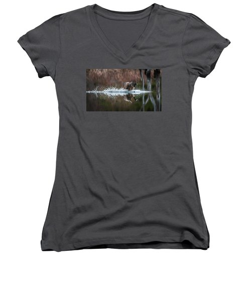 Incoming Women's V-Neck T-Shirt (Junior Cut)