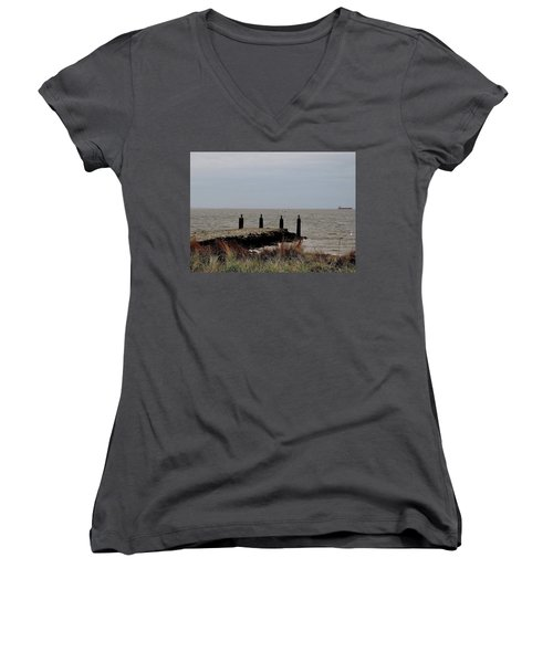 Incoming Freedom  Women's V-Neck T-Shirt