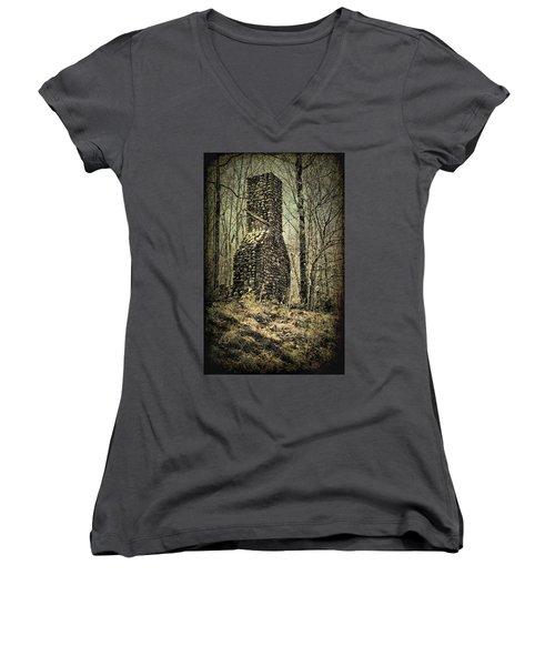 Indestructible Women's V-Neck T-Shirt