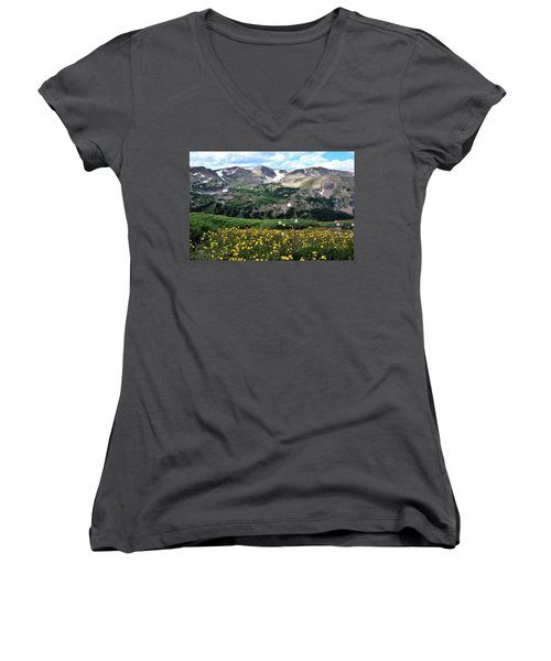 Indian Peaks Wilderness Women's V-Neck (Athletic Fit)