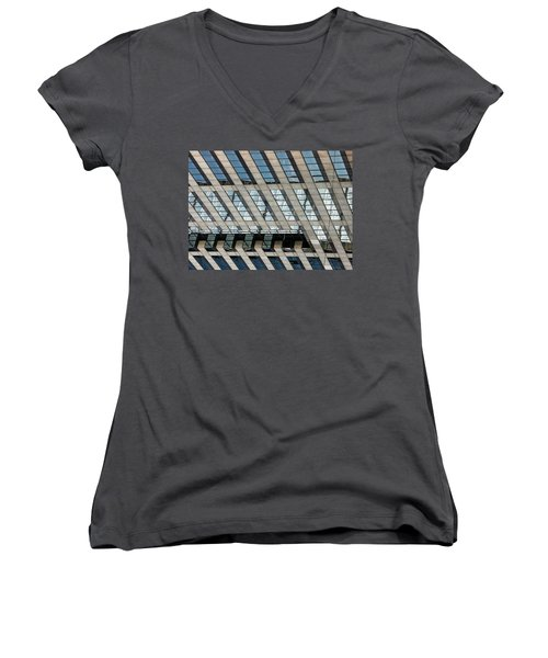 Indianapolis Downtown Women's V-Neck T-Shirt