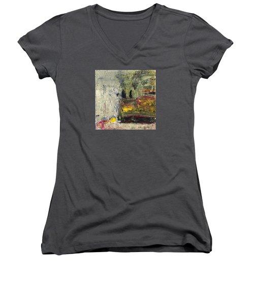 Industry Women's V-Neck T-Shirt (Junior Cut) by Phil Strang