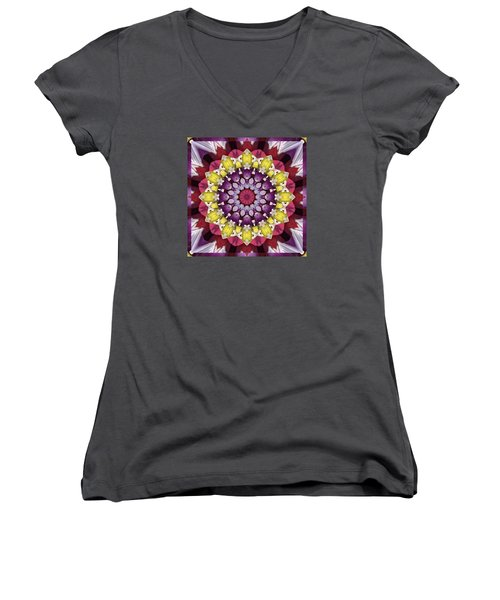 Women's V-Neck T-Shirt (Junior Cut) featuring the photograph Infinity by Bell And Todd