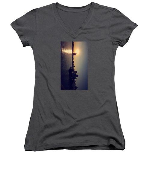 Inner Harbor Women's V-Neck T-Shirt