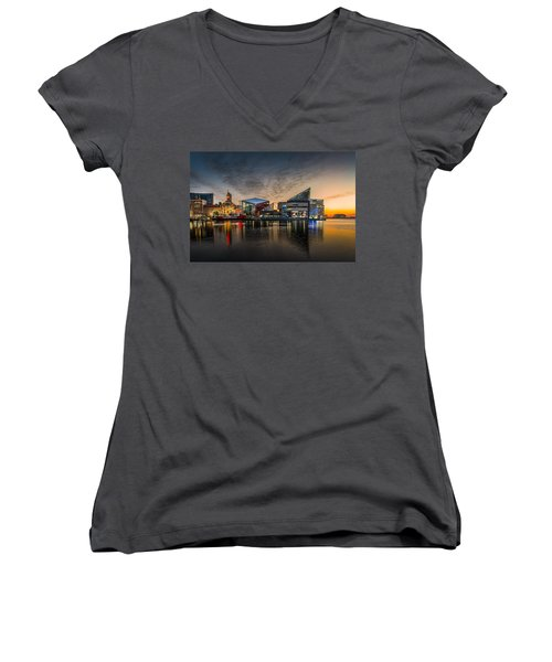 Inner Harbour  Women's V-Neck (Athletic Fit)