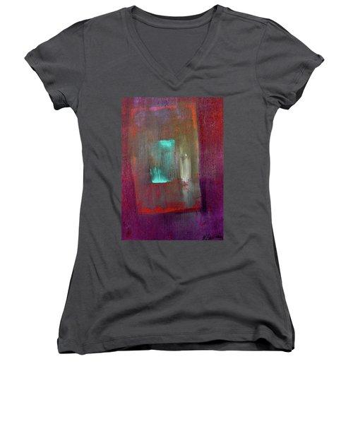 Inner Space Women's V-Neck T-Shirt