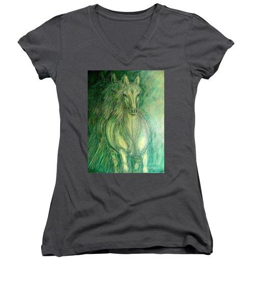 Inner Spirit Women's V-Neck T-Shirt