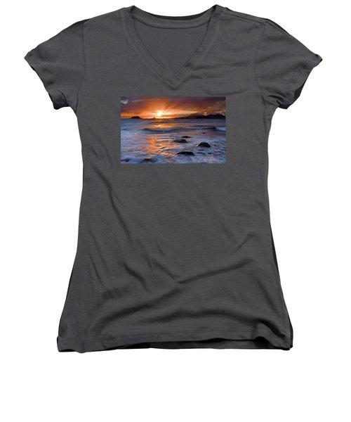 Inspired Light Women's V-Neck T-Shirt