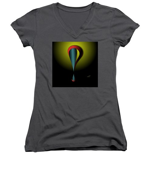 Interrofang Bang Women's V-Neck (Athletic Fit)