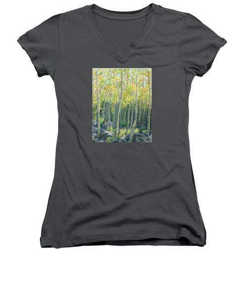 Into The Aspens Women's V-Neck (Athletic Fit)