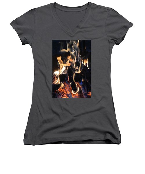Into The Fire Women's V-Neck