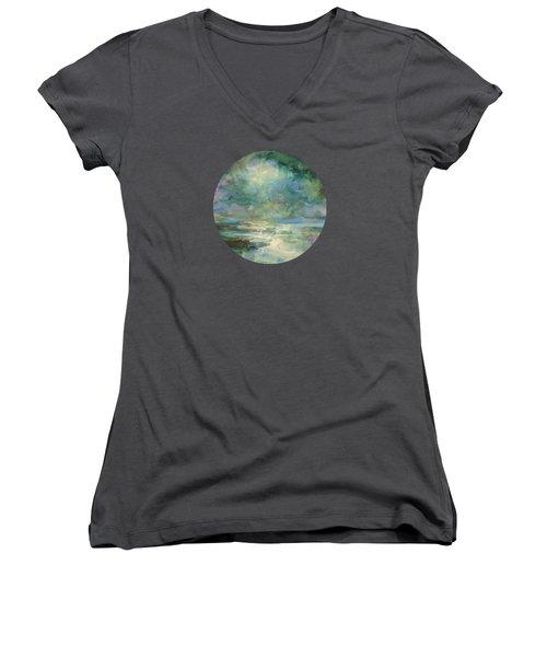 Into The Light Women's V-Neck T-Shirt (Junior Cut)