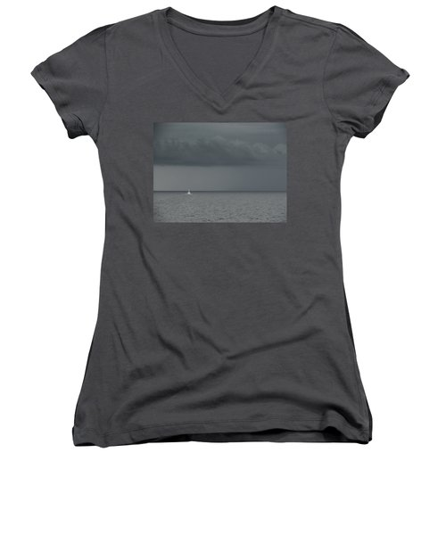 Into The Storm Women's V-Neck (Athletic Fit)