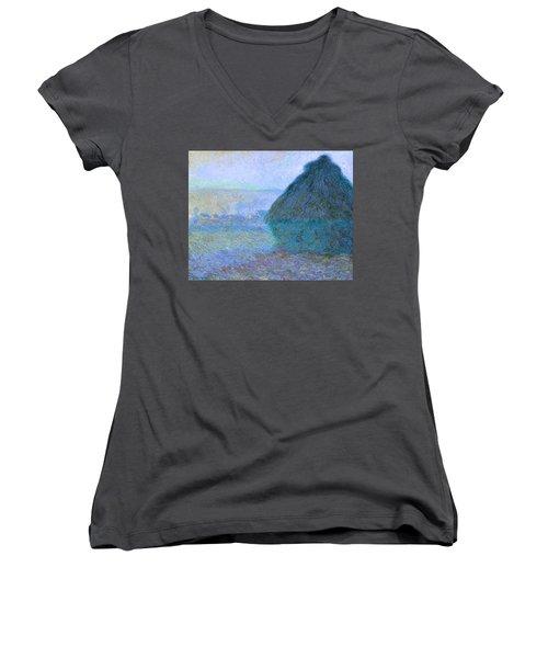 Inv Blend 21 Monet Women's V-Neck T-Shirt