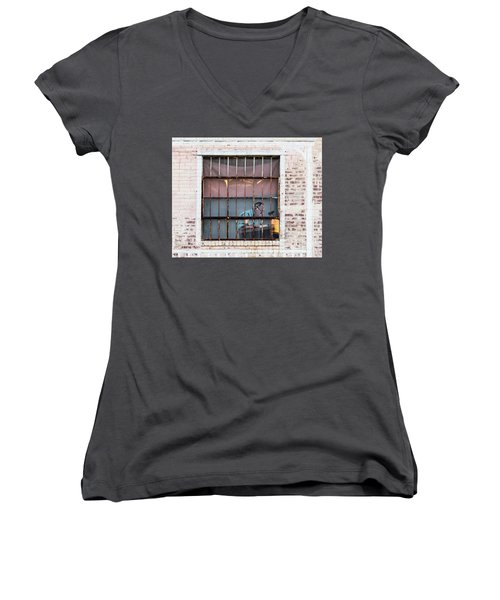 Inventory Time Women's V-Neck (Athletic Fit)