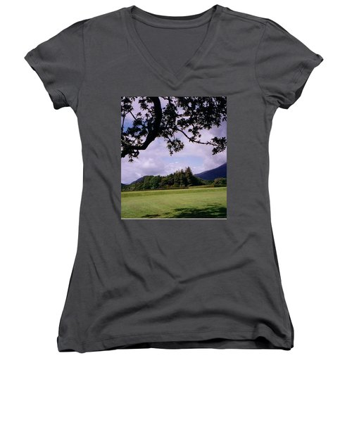 Ireland View Women's V-Neck (Athletic Fit)