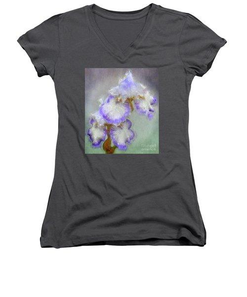 Iris After The Rain Women's V-Neck T-Shirt