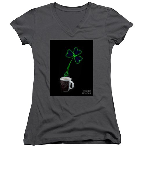 Irish Coffee Women's V-Neck