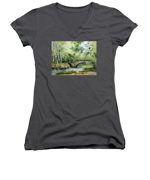 Irish Overpass Women's V-Neck T-Shirt