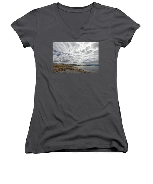 Irish Sky - Waterville, Ring Of Kerry Women's V-Neck