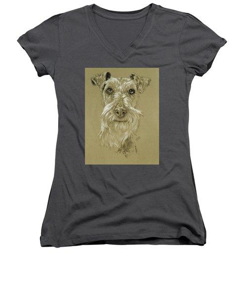 Irish Terrier Women's V-Neck