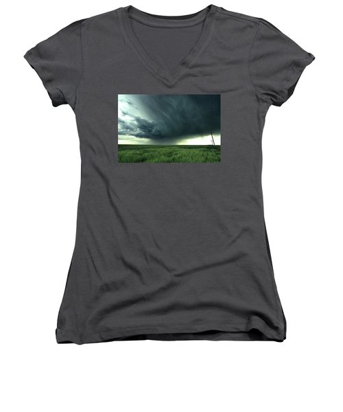 Irrigation Women's V-Neck (Athletic Fit)