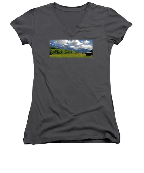 Is There More To Life Than This ... Women's V-Neck T-Shirt (Junior Cut) by Juergen Weiss