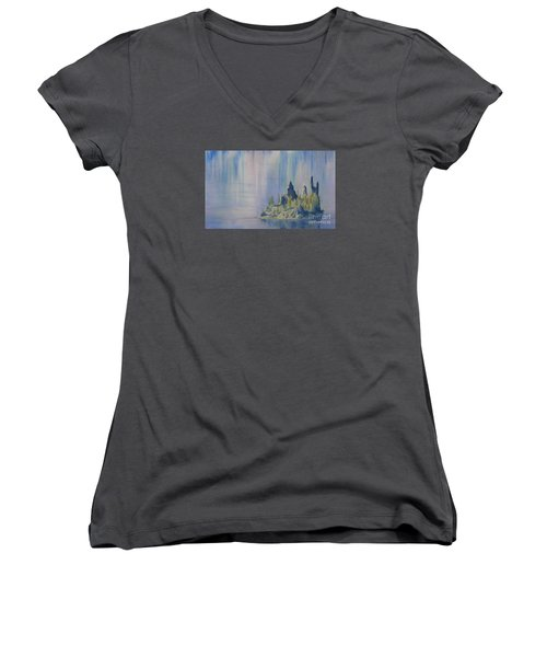 Isle Of Reflection Women's V-Neck