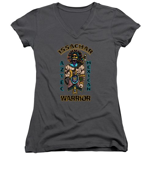 Issachar Aztec Warrior Women's V-Neck (Athletic Fit)