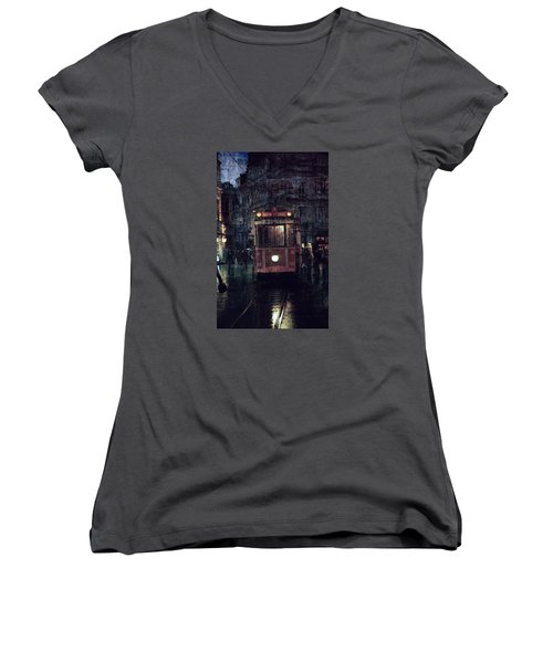 Istanbul Women's V-Neck (Athletic Fit)