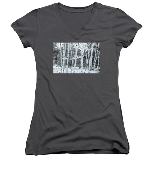 It Elicits A Feeling Of Nostalgia.  Women's V-Neck (Athletic Fit)
