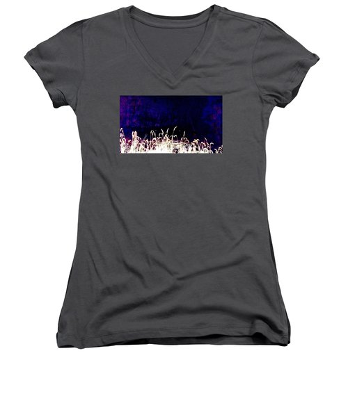 It Happened In My Headlights Women's V-Neck (Athletic Fit)