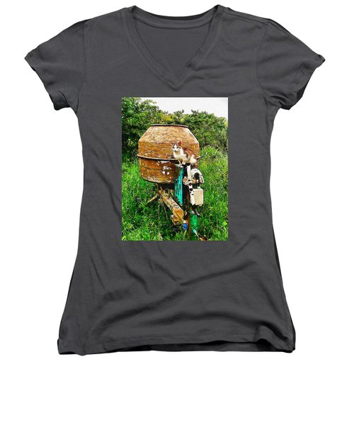 It Is Cement To Be Women's V-Neck (Athletic Fit)