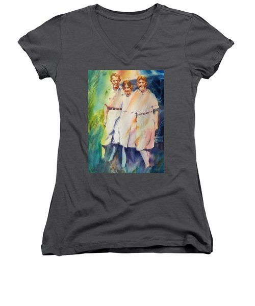 It Was Paradise Here With You Women's V-Neck