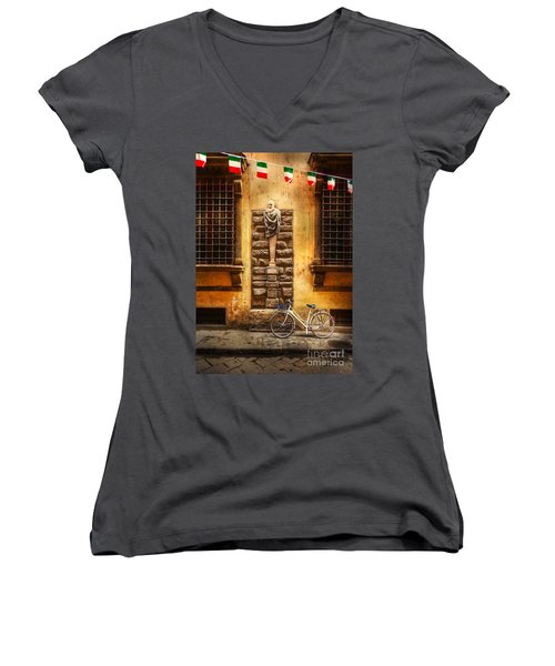 Italia Cential Bicycle Women's V-Neck